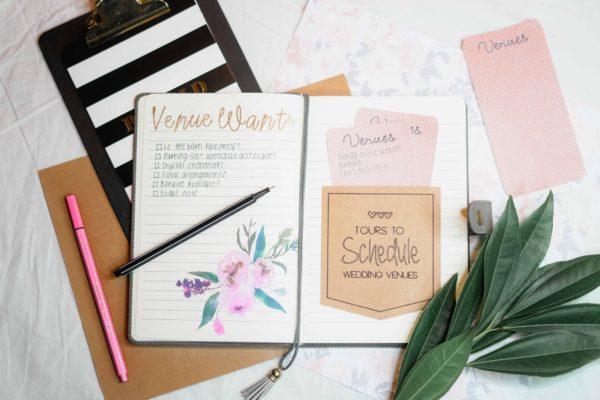 Plánovanie svadby a plánovacie nástroje