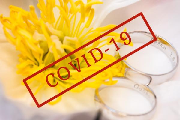 COVID-19 a svadba