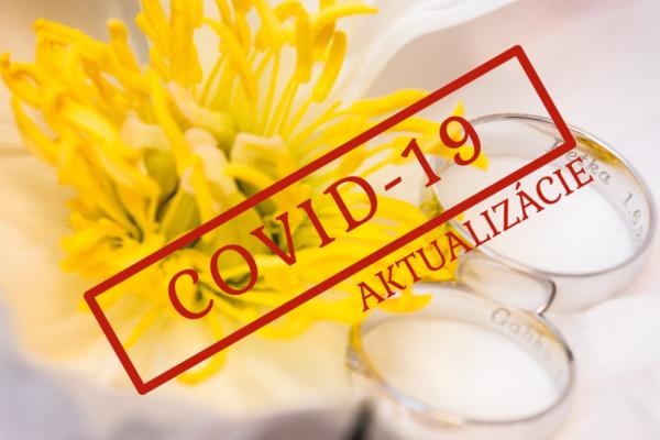 COVID-19 a svadba (Aktualizácia)