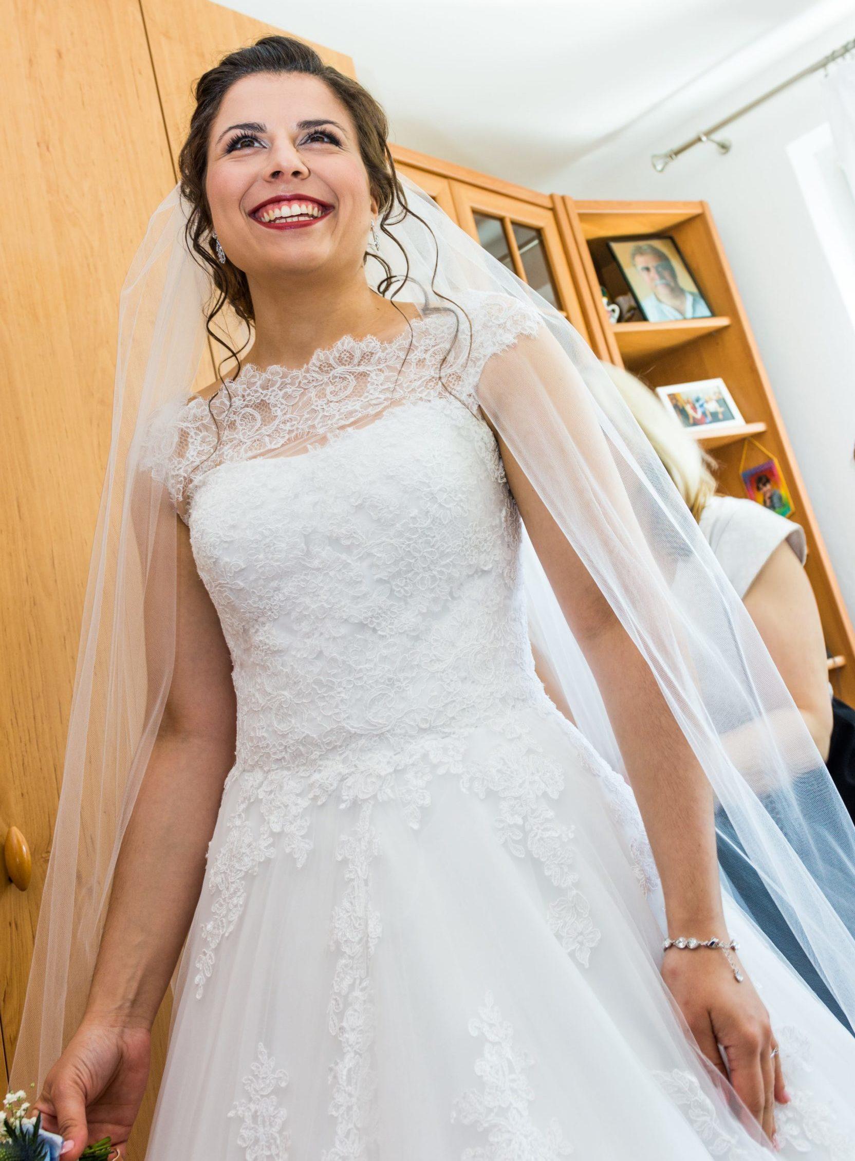 nevesta, prípravy, svadobné šaty